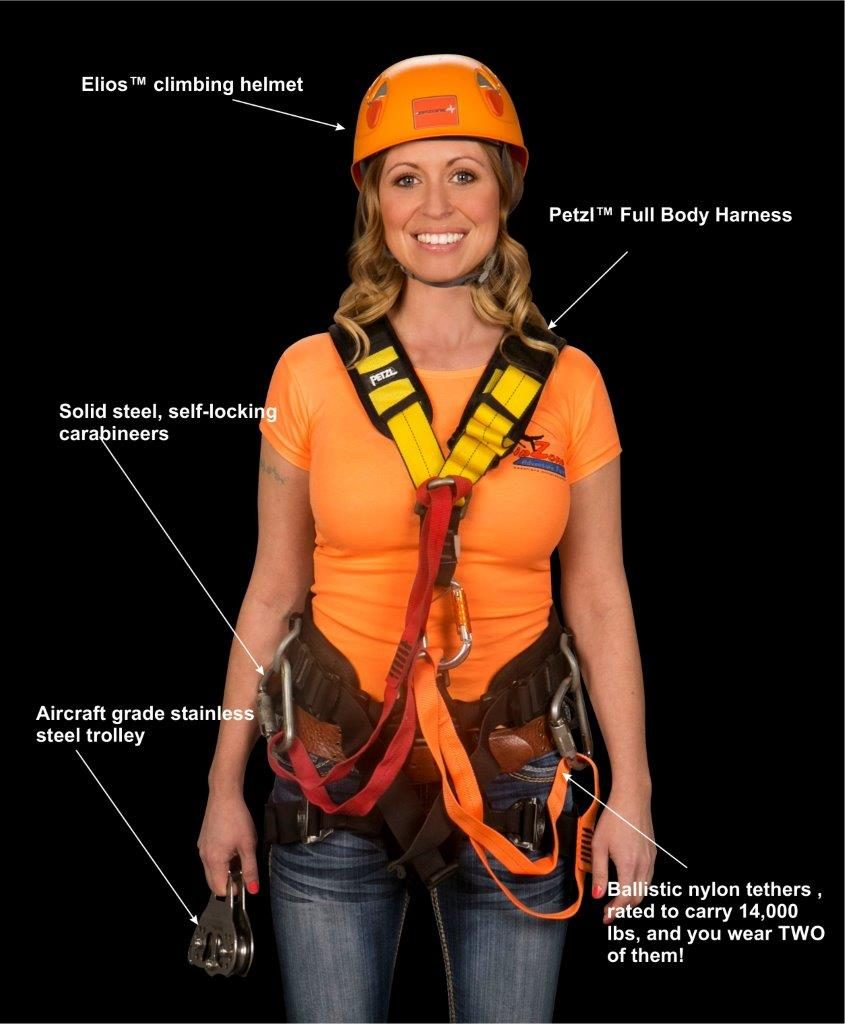 ZipZone safety gear and equipment